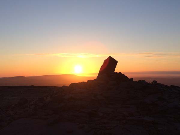 penyfan-sunset